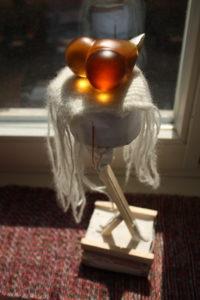 """Bird heart"" en mi ventana"